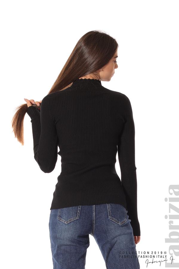 Блуза с елемент