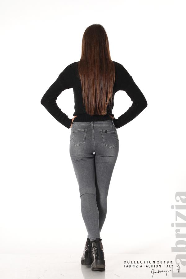 Дамски сиви дънки 5 fabrizia