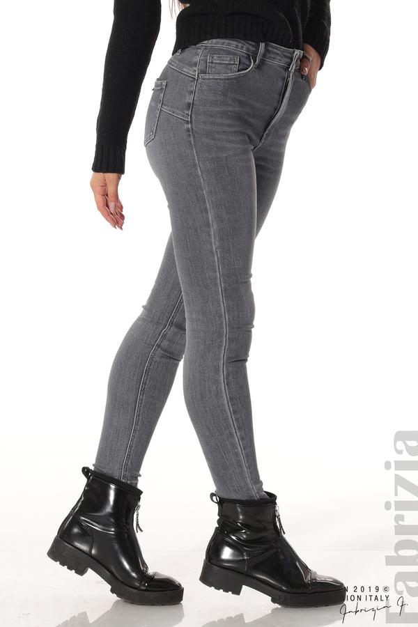 Дамски сиви дънки 6 fabrizia
