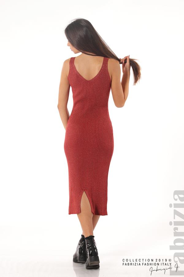Комплект рокля и блуза с ламе керемида 4 fabrizia