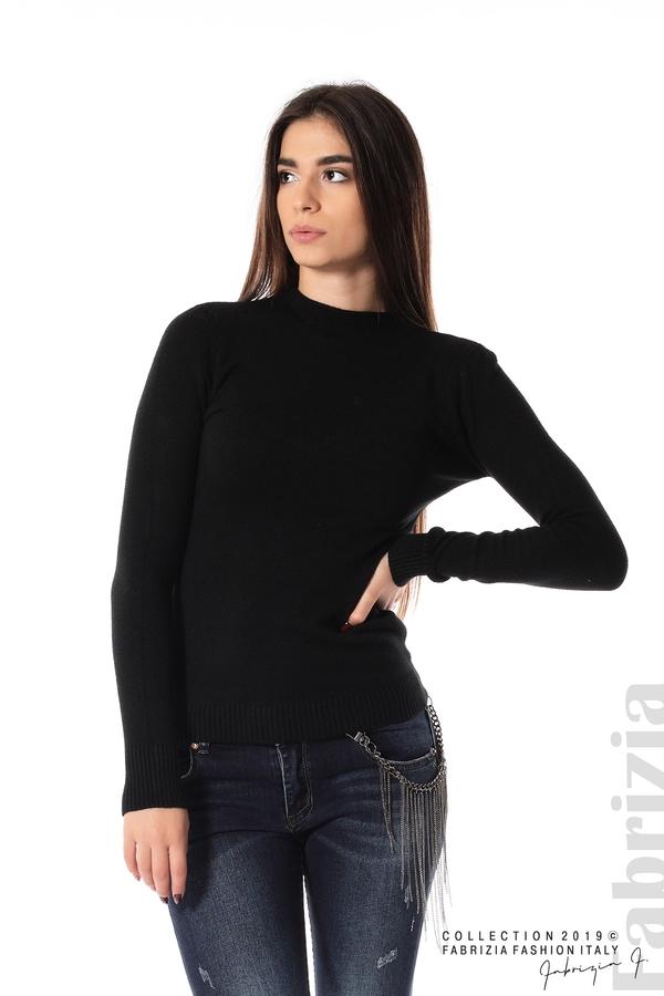 Ежедневна дамска блуза черен 1 fabrizia