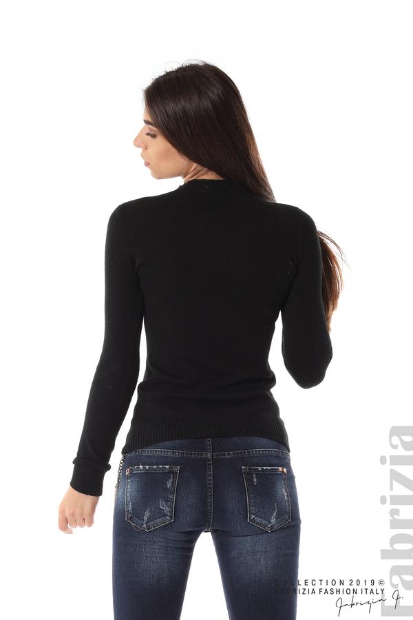 Ежедневна дамска блуза черен 5 fabrizia