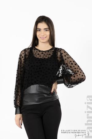 Дамска блуза от тюл