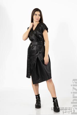 Дамска кожена рокля
