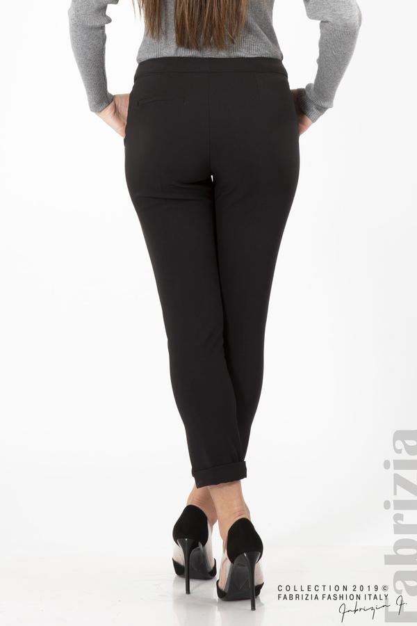Дамски панталон с италиански джоб черен 6 fabrizia