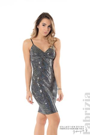 Къса рокля с висока талия