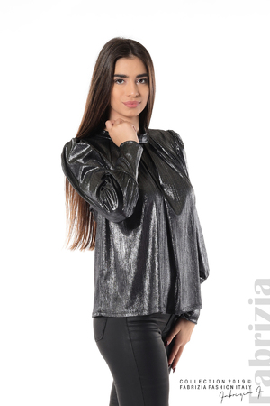 Ефектна блуза с набори