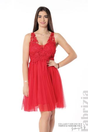 Къса ефирна дамска рокля