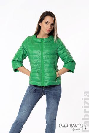 Дамско яке с три четвърти ръкави
