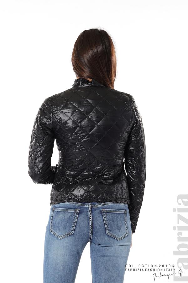 Вталено дамско яке черен 6 fabrizia