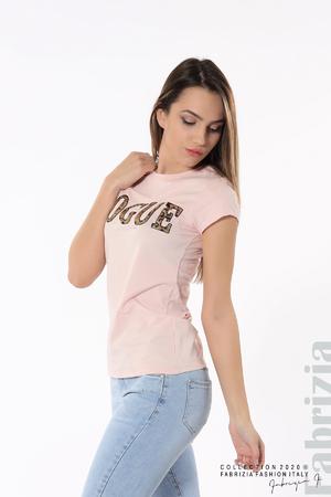 Дамска блуза с надпис Vogue