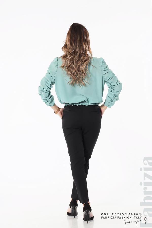 Дамска блуза с набрани ръкави бл.зелен 5 fabrizia