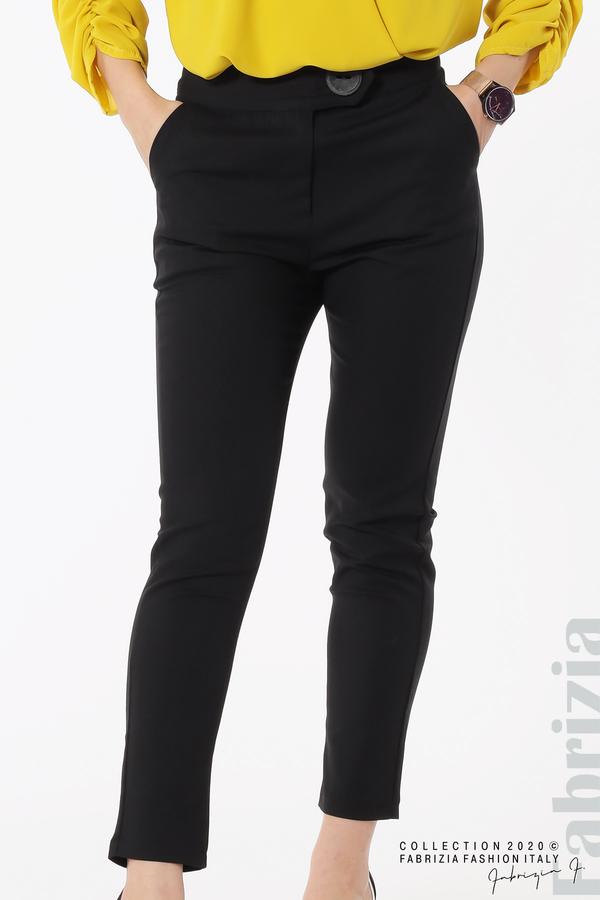 Панталон с италиански джоб  черен 3 fabrizia