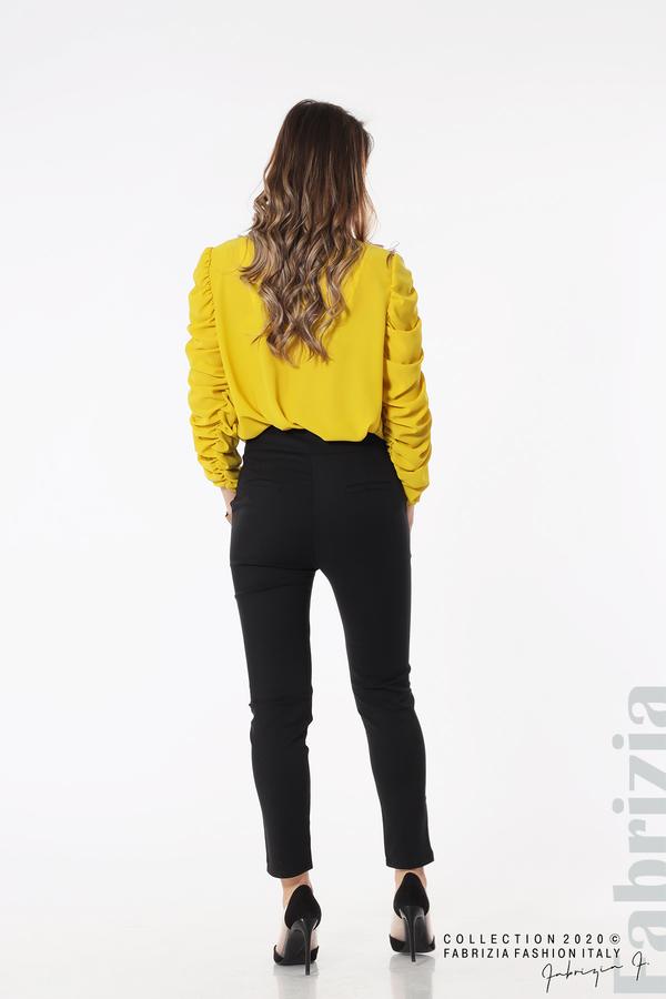 Панталон с италиански джоб  черен 5 fabrizia