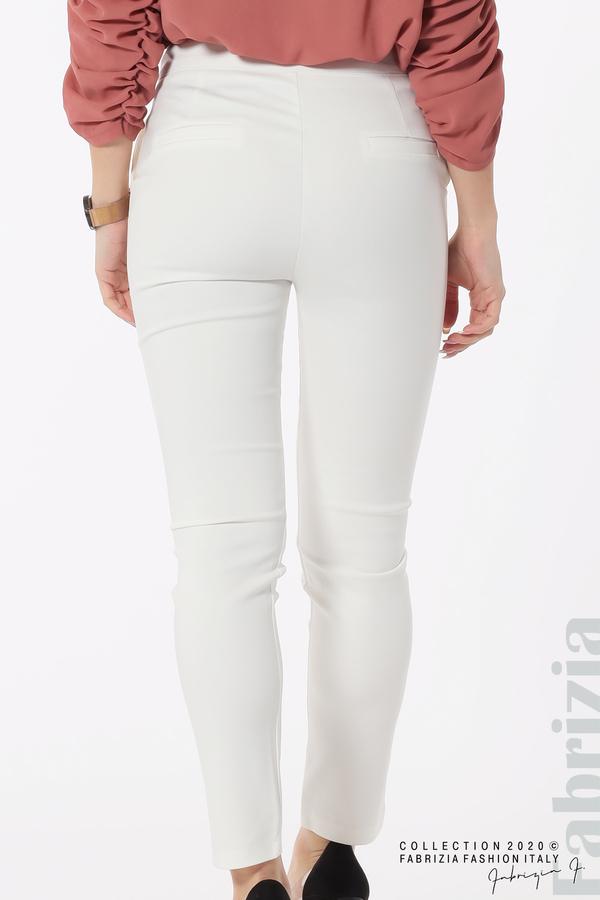 Панталон с италиански джоб  бял 6 fabrizia