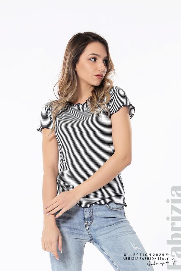 Блуза  с къдрички д.син 2 fabrizia