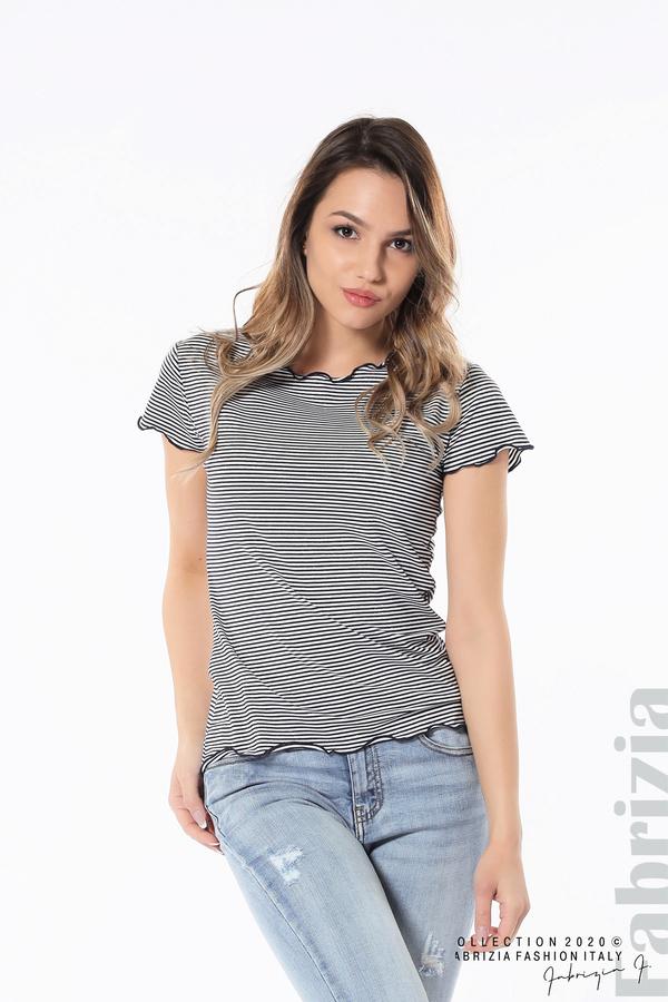 Блуза  с къдрички д.син 1 fabrizia