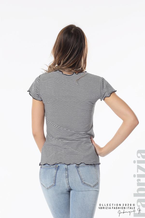 Блуза  с къдрички д.син 5 fabrizia