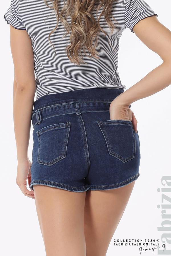 Тъмни дънкови панталонки 6 fabrizia