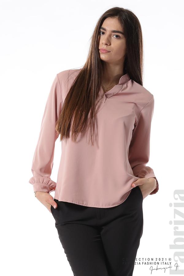Елегантна блуза с ефектен гръб пепел от рози 3 fabrizia