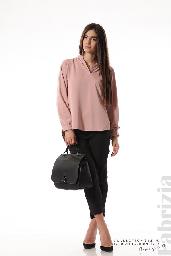 Елегантна блуза с ефектен гръб пепел от рози 4 fabrizia