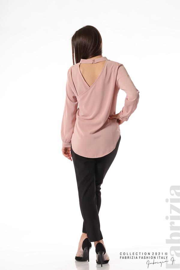 Елегантна блуза с ефектен гръб пепел от рози 6 fabrizia