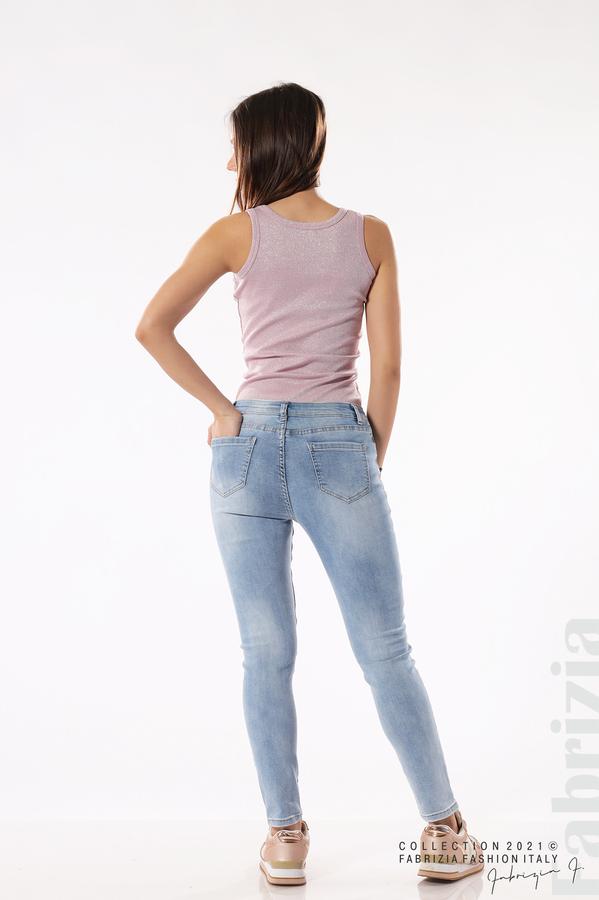 Светли дамски дънки Super Skinny 6 fabrizia