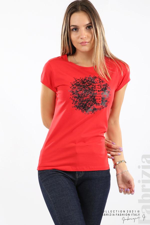 Дамска блуза Fabrizia червен 2 fabrizia