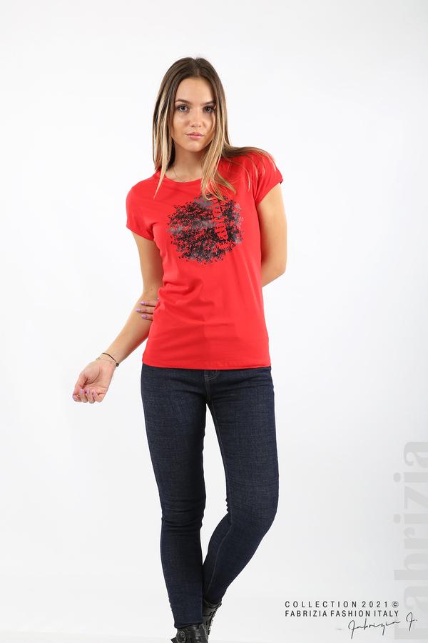 Дамска блуза Fabrizia червен 3 fabrizia