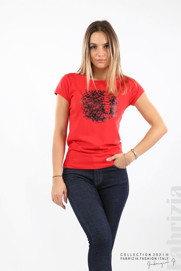 Дамска блуза Fabrizia червен 4 fabrizia