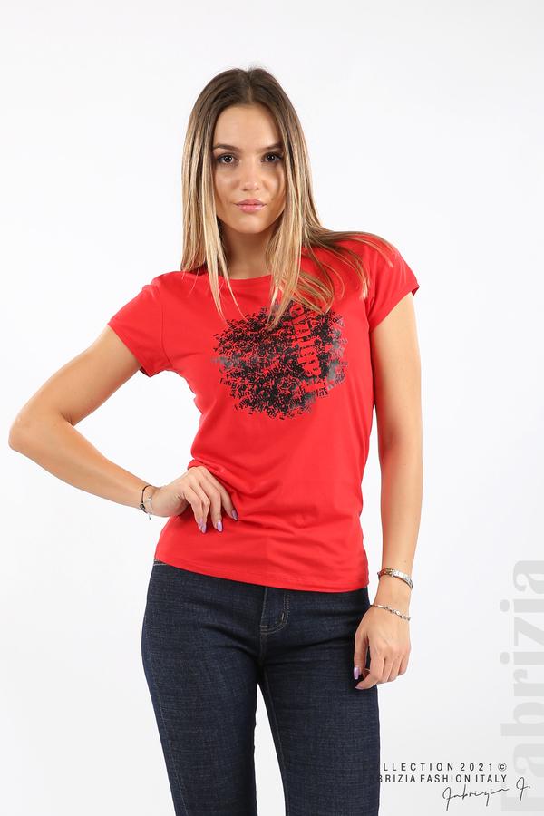 Дамска блуза Fabrizia червен 1 fabrizia