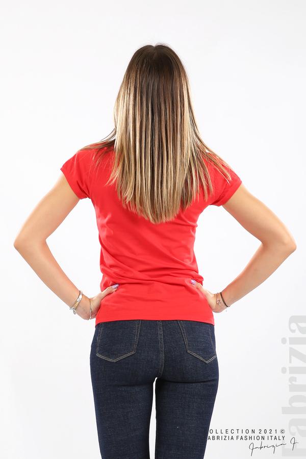 Дамска блуза Fabrizia червен 5 fabrizia