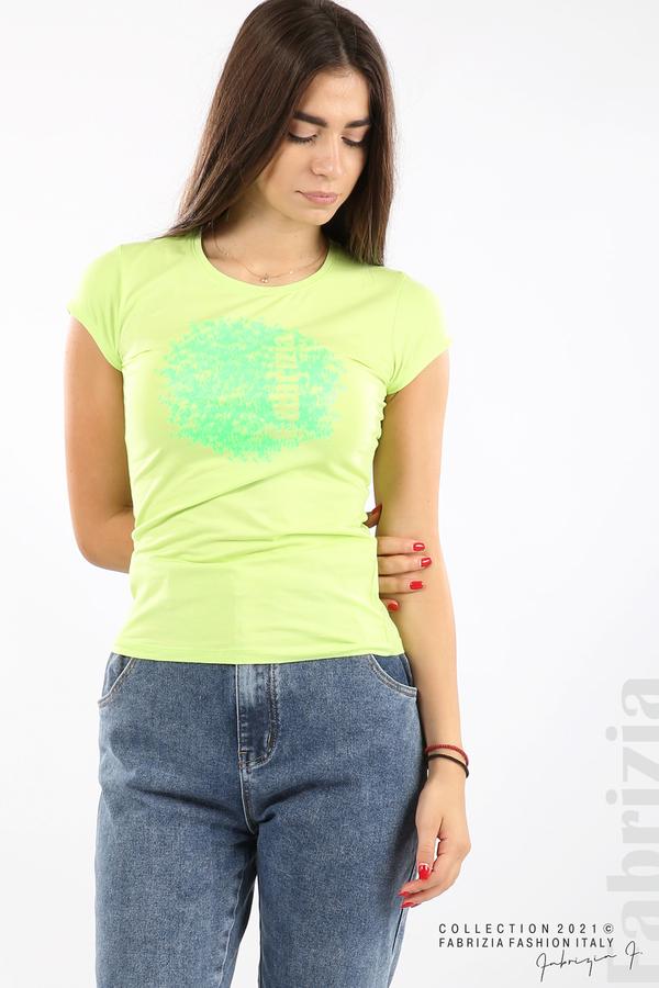 Дамска блуза Fabrizia св.зелен 2 fabrizia