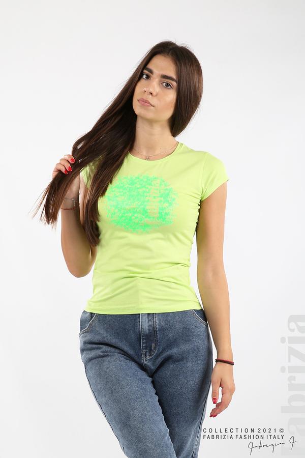 Дамска блуза Fabrizia св.зелен 1 fabrizia