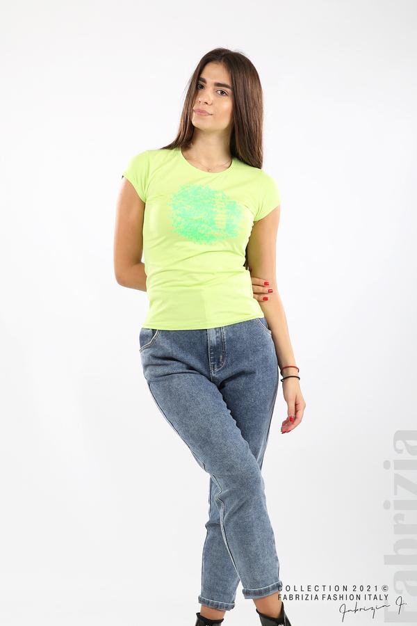 Дамска блуза Fabrizia св.зелен 3 fabrizia