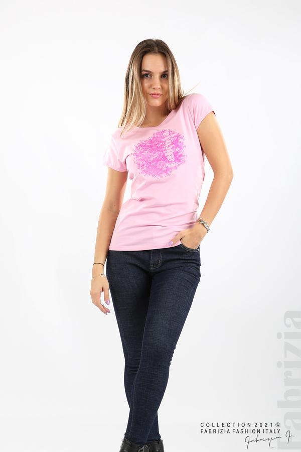 Дамска блуза Fabrizia розов 3 fabrizia