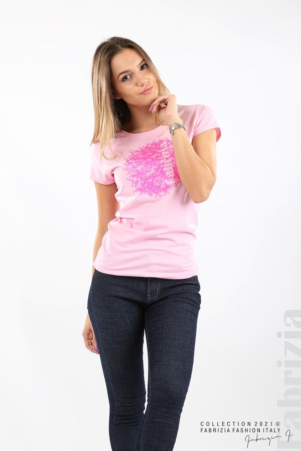 Дамска блуза Fabrizia розов 4 fabrizia