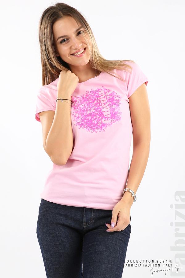 Дамска блуза Fabrizia розов 2 fabrizia
