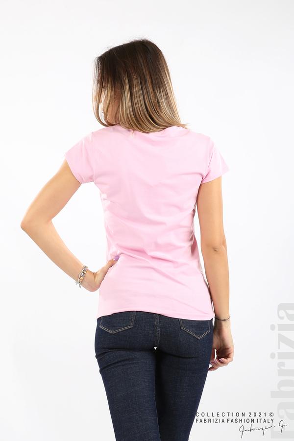 Дамска блуза Fabrizia розов 5 fabrizia