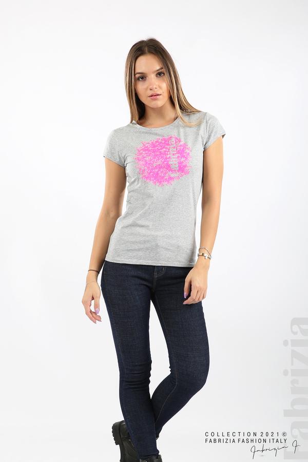 Дамска блуза Fabrizia сив 3 fabrizia