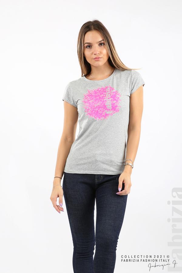 Дамска блуза Fabrizia сив 1 fabrizia