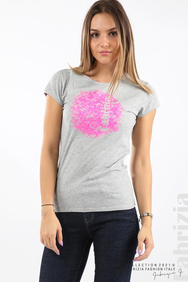 Дамска блуза Fabrizia сив 2 fabrizia