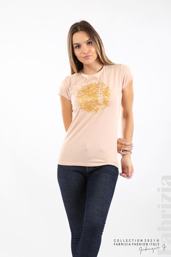 Дамска блуза Fabrizia пудра 4 fabrizia