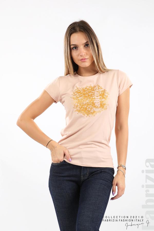 Дамска блуза Fabrizia пудра 1 fabrizia