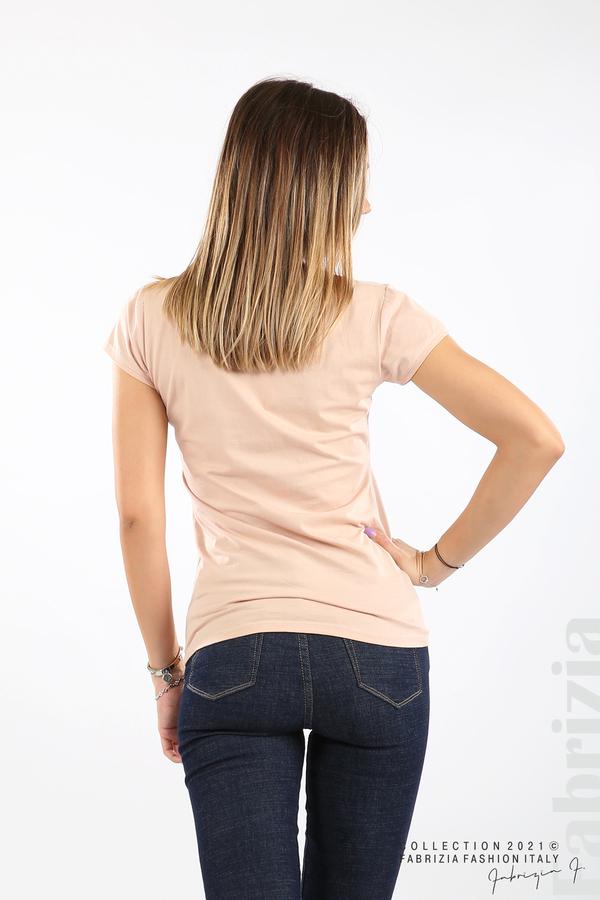 Дамска блуза Fabrizia пудра 5 fabrizia