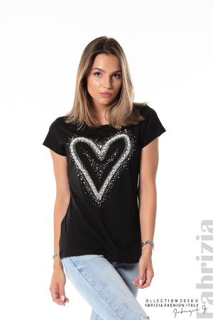 Блуза със сърце