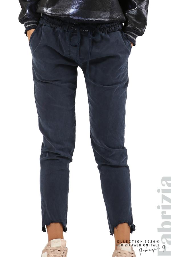 Спортен панталон с акцент на крачолите т.син 2 fabrizia