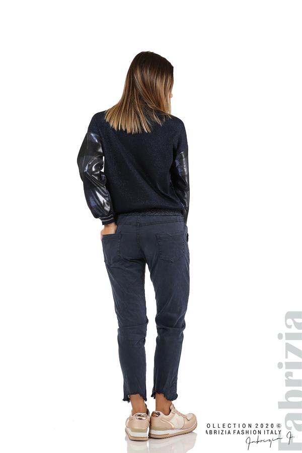 Спортен панталон с акцент на крачолите т.син 6 fabrizia