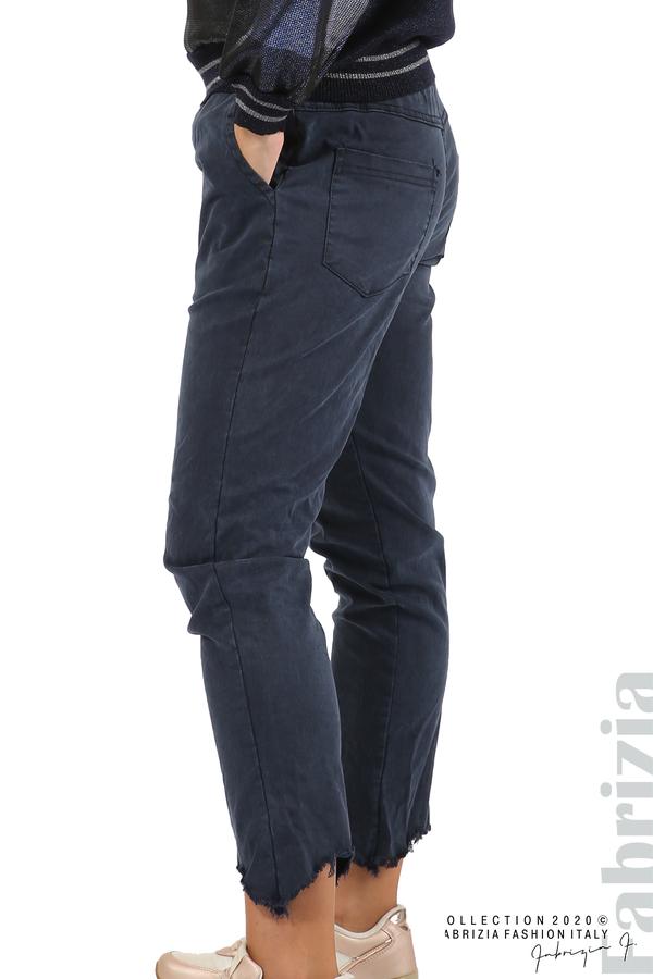Спортен панталон с акцент на крачолите т.син 4 fabrizia