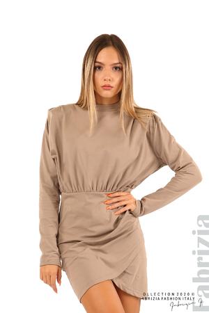 Къса трикотажна рокля